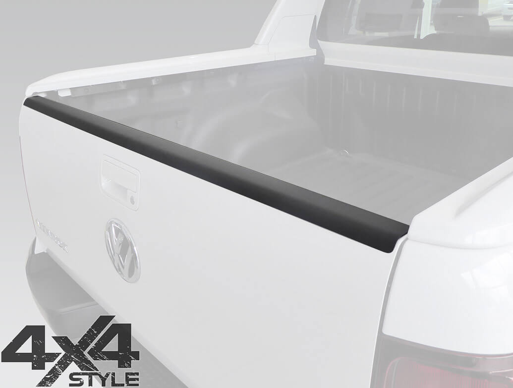 ABS Rear Tailgate Bed Rail Protector - VW Amarok 2010>