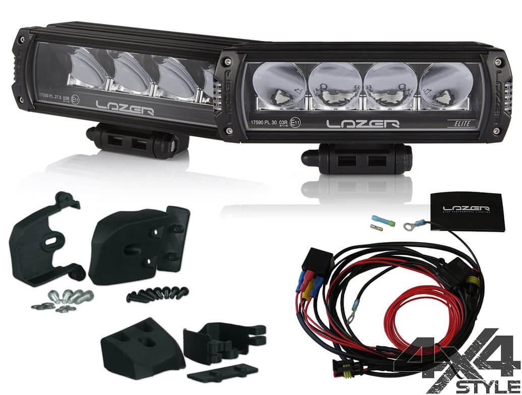 Lazer Triple-R 750 - LED Spot Light - Ford Ranger 16-19 Twin Kit