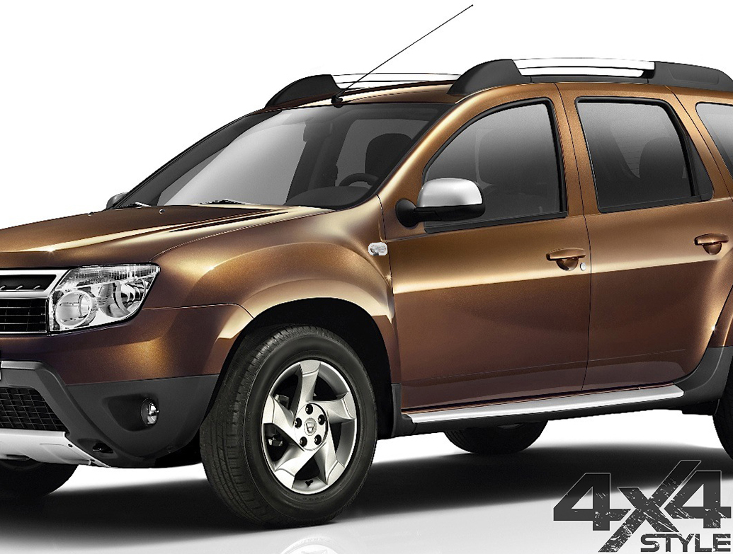Polished Stainless Steel Side Indicator Rim - Dacia Duster 10>18