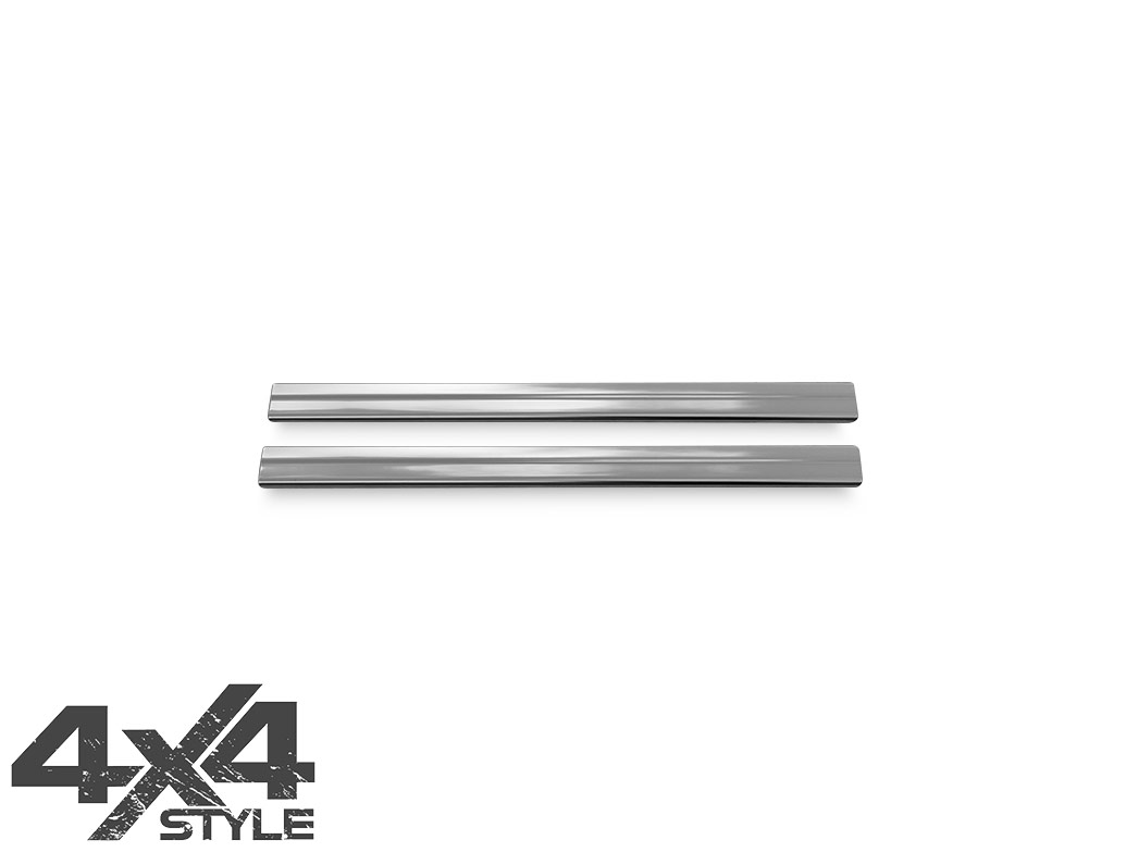 Polished Stainless Steel Door Sill Covers - Nissan Juke 2011>