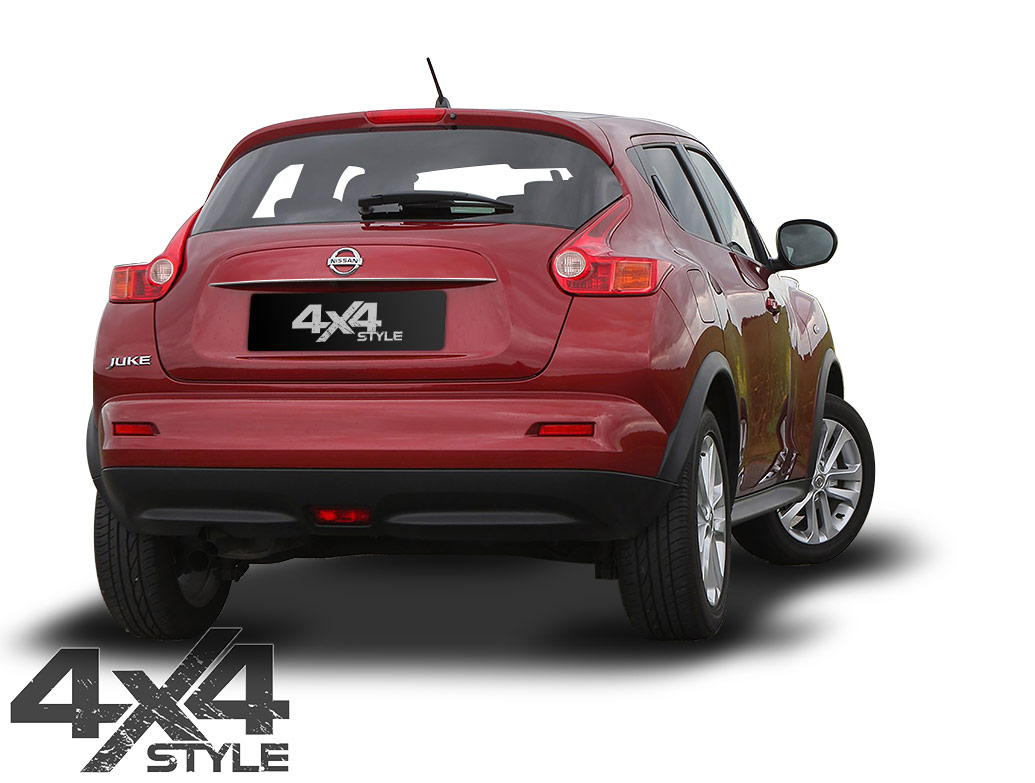 Brushed Stainless Steel Rear Grab Handle Cover - Nissan Juke 11>