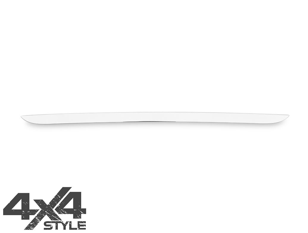 Polished Stainless Steel Tailgate Trim Line - Dacia Duster 2010>