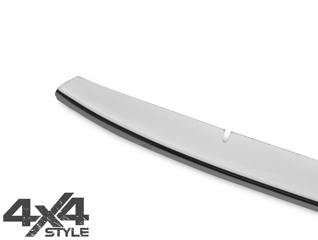 Polished Stainless Steel Front Bumper Streamer - Fiat 500X 2015>