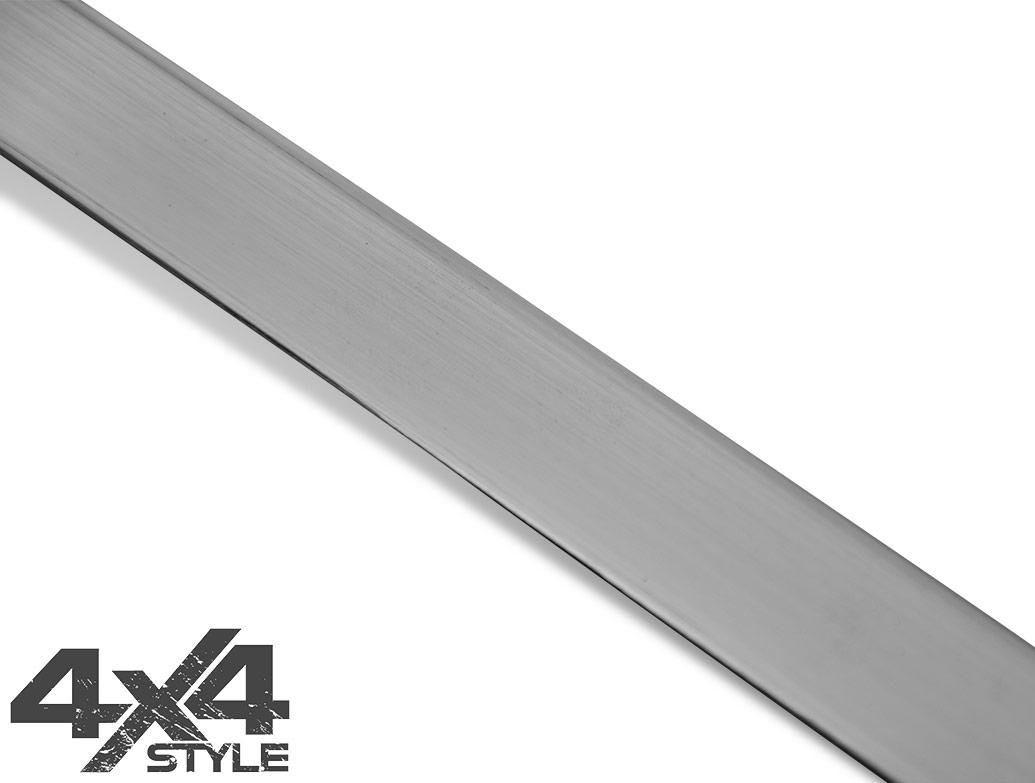 Brushed Stainless Steel Tailgate Trim Line - Nissan Juke 2011>