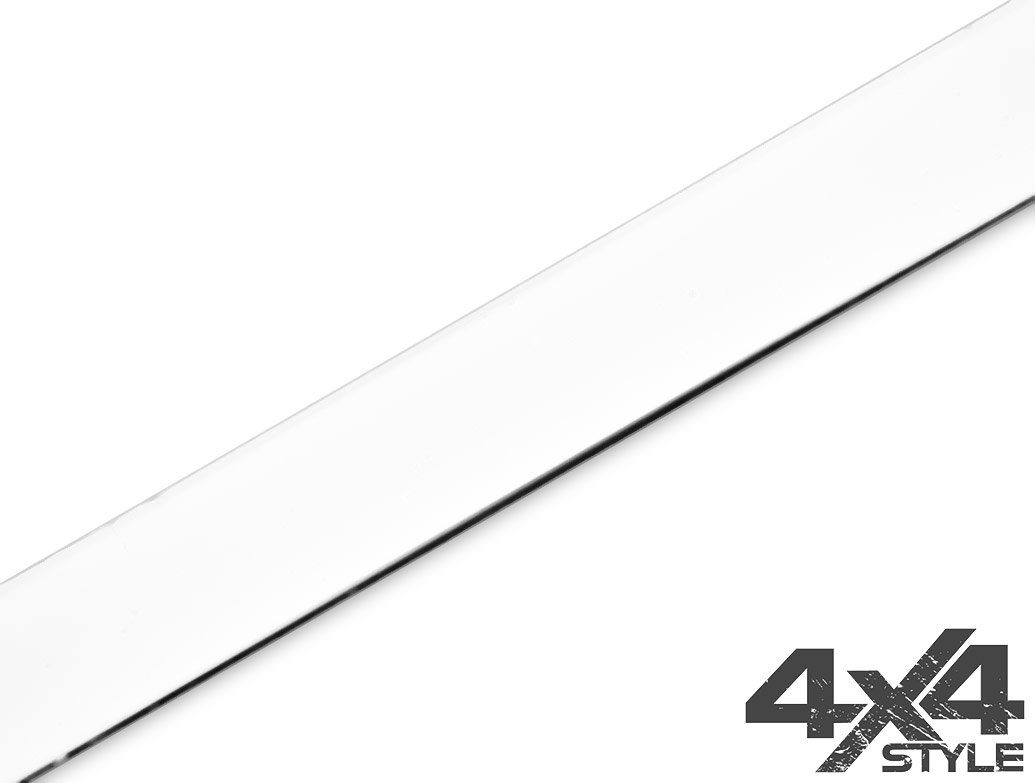 Polished Stainless Steel Tailgate Trim Line - Fiat 500L 2013>