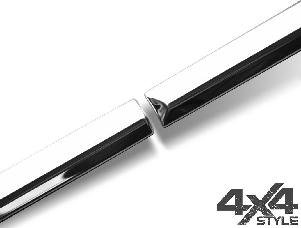 Polished Stainless Steel Side Door Streamers - Kia Sorento 10-13