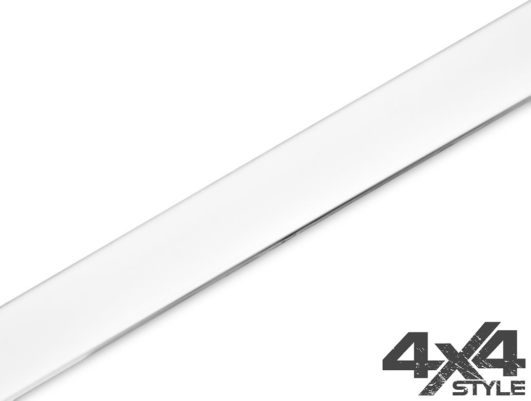 Polished Stainless Steel Tailgate Trim Line - Vauxhall Mokka 12>