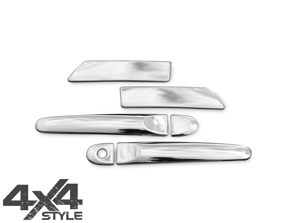 Stainless Steel Door Handle Cover - Nissan Juke (No-Keyless) 11>