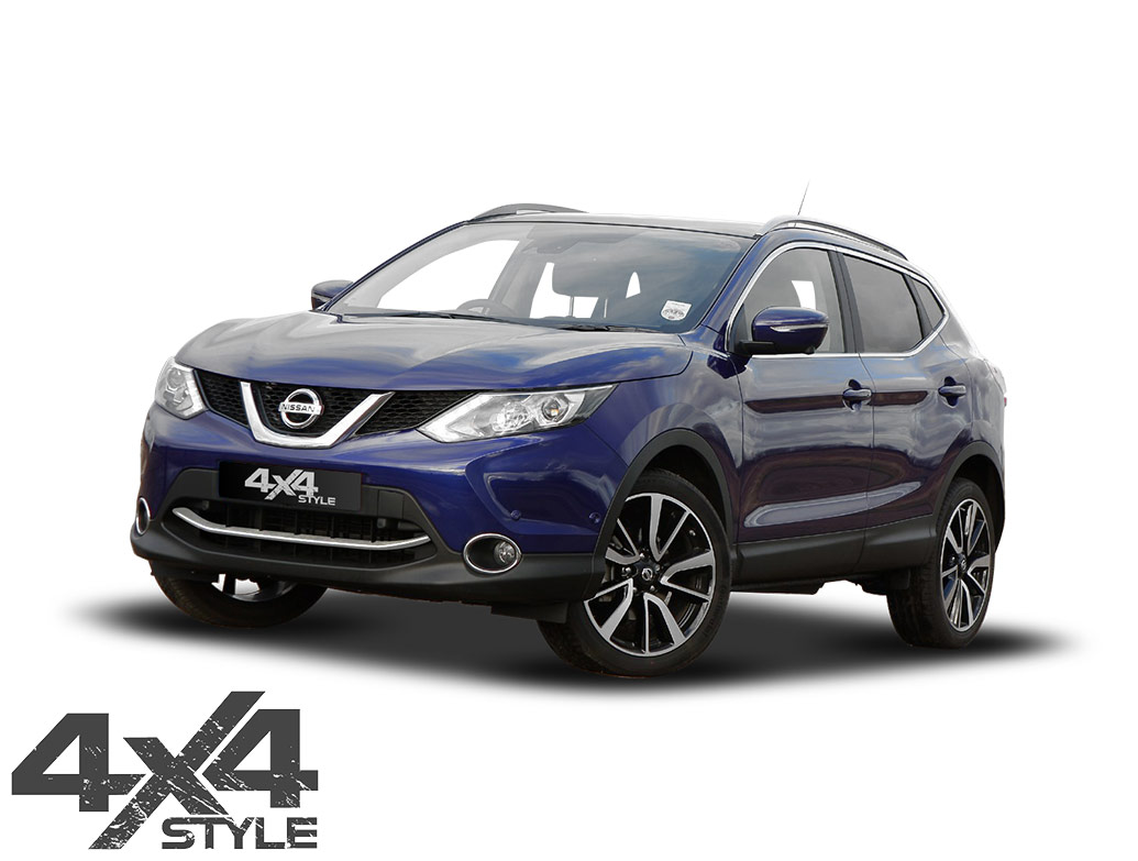 Polished S.Steel Front Bumper Streamer - Nissan Qashqai 14-17