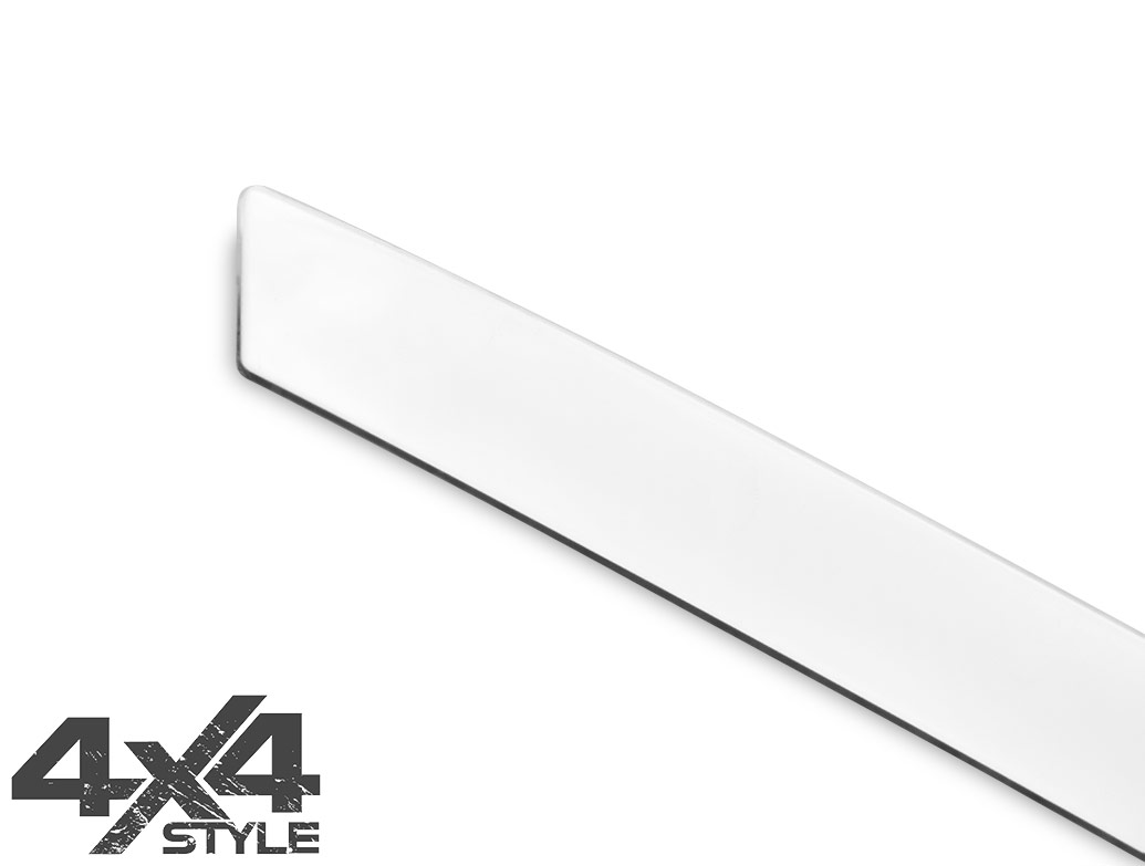 Polished Stainless Steel Tailgate Trim Line - Renault Kadjar