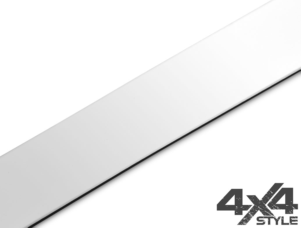 Brushed Stainless Steel Tailgate Trim Line - Jeep Renegade 2014>