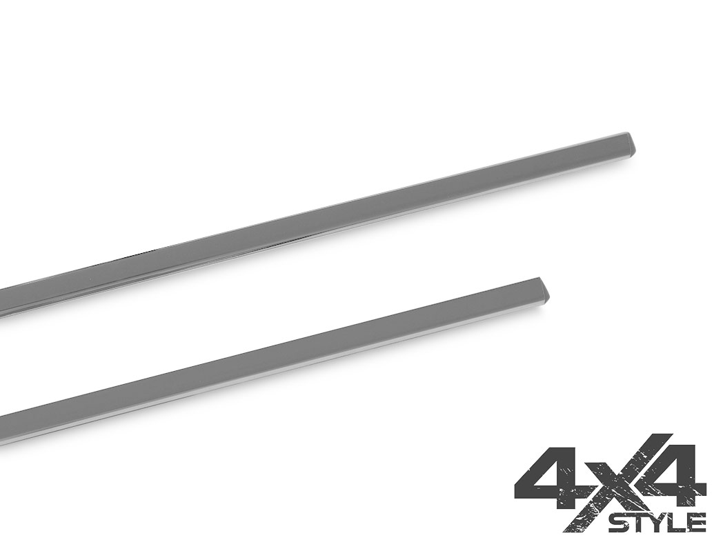 Polished Stainless Steel Window Trim Set - Nissan Qashqai 07-14