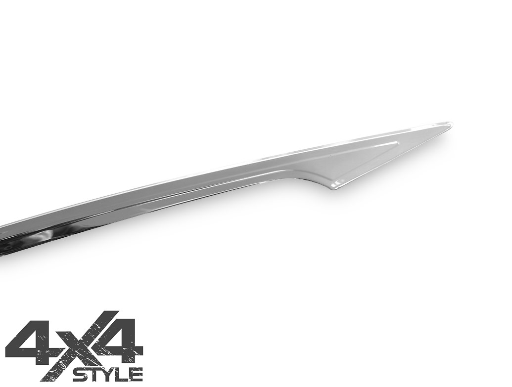 Stainless Steel Rear Grab Handle Cover - Nissan Qashqai 14>