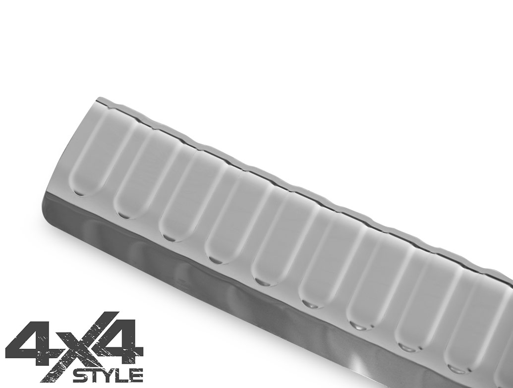Polished Stainless Steel Boot Sill Protector - VW Tiguan 07-16