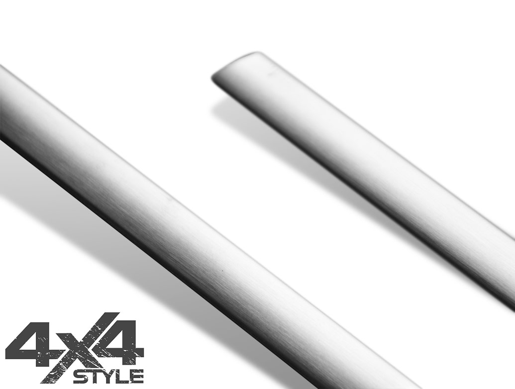 Brushed Stainless Steel Window Trim Covers - Nissan Juke 11>