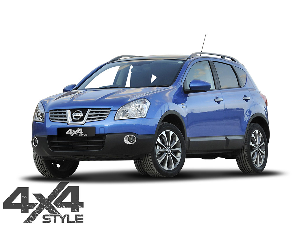 Chrome ABS Front Fog Light Surrounds - Nissan Qashqai 10-14