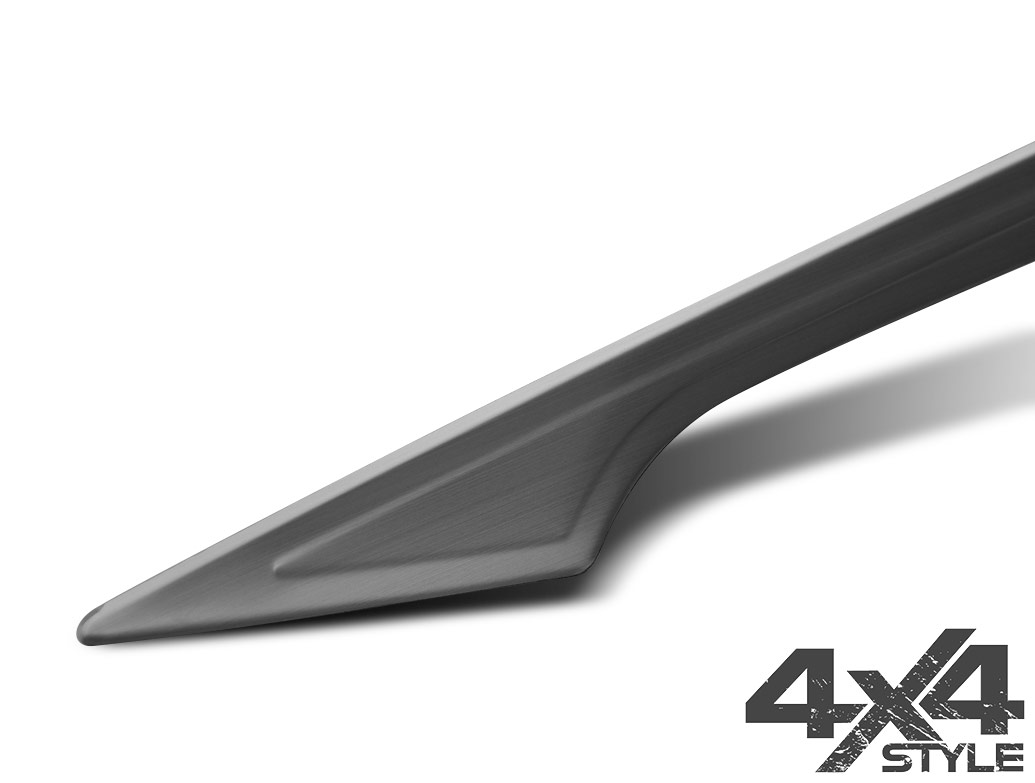 Brushed Stainless Steel Rear Grab Handle - Nissan Qashqai 14>