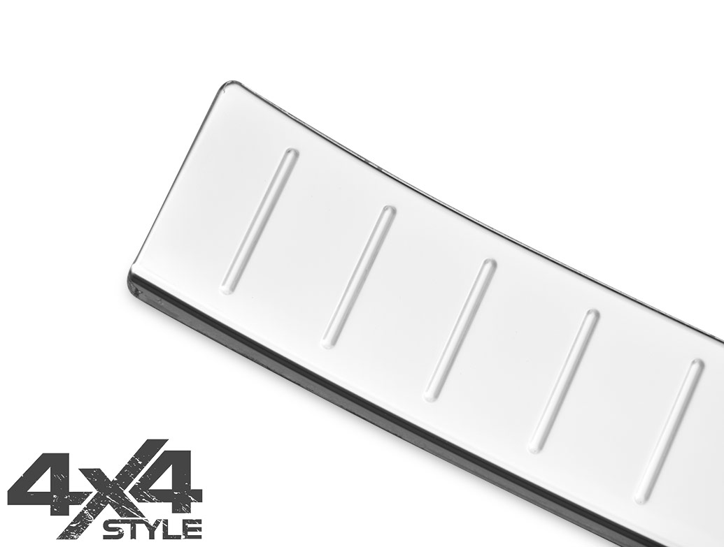 Polished Stainless Steel Rear Bumper Protector - BMW X1 12-15