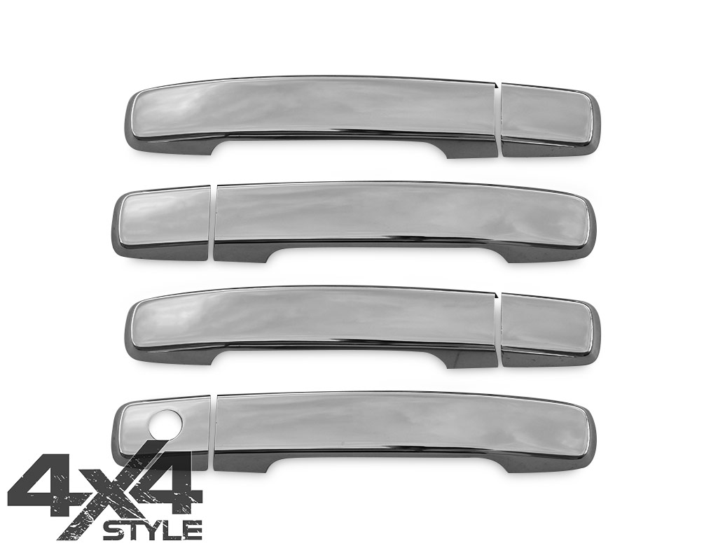 Stainless Steel Door Handle Cover Set - Nissan Qashqai 07-14