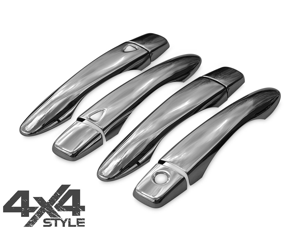 Stainless Steel Door Handle Cover Set - Nissan Qashqai 14-17