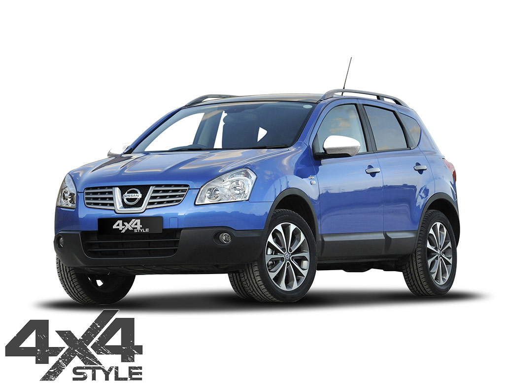 Chrome ABS Mirror Covers - Nissan Qashqai 07-14