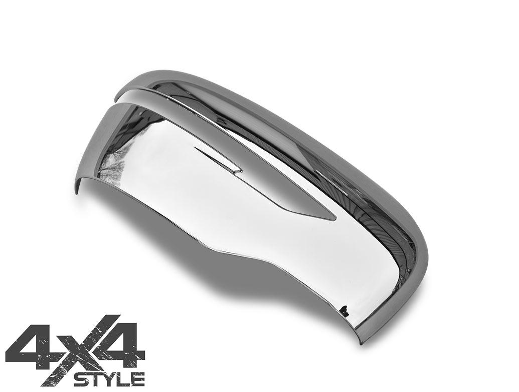 Chrome ABS Mirror Covers - Nissan Juke/Qashqai/X-Trail