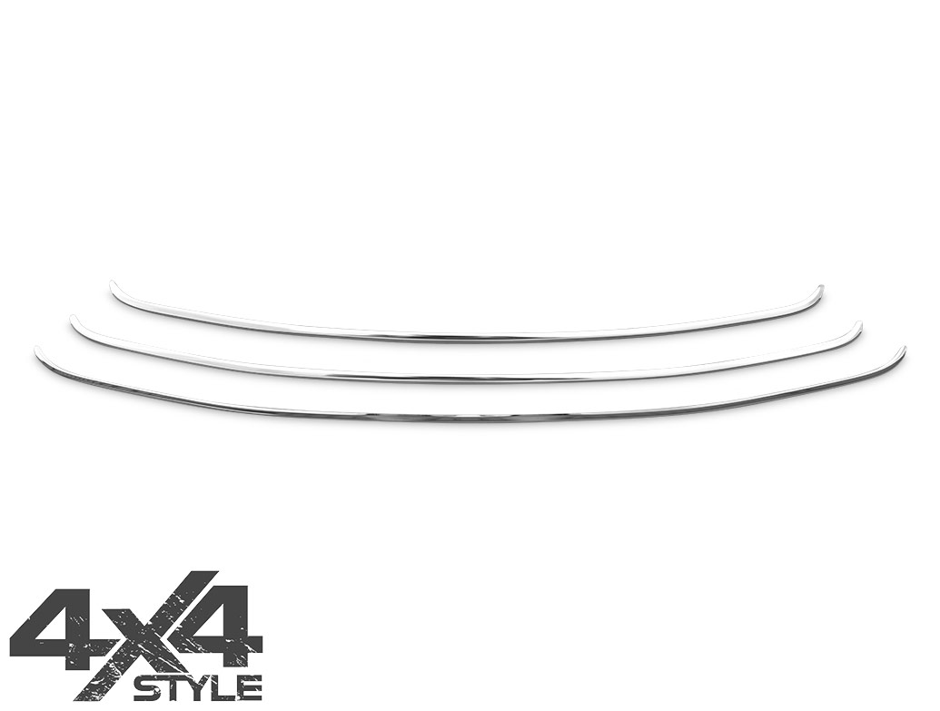 Polished Stainless Steel Front Grille Set - Hyundai iX35 10-15