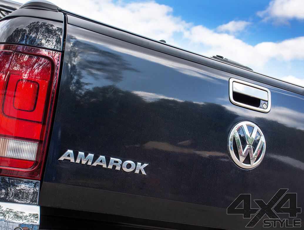 Stainless Steel Rear Door Handle Cover - VW Amarok 2010>