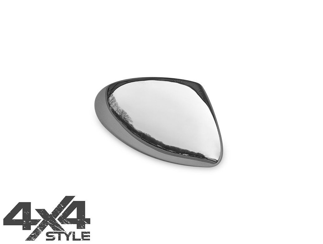 Polished Stainless Steel Wing Mirror Covers - VW Tiguan 07-16