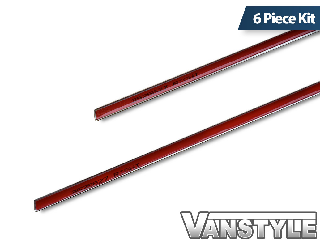 Polished Stainless Steel Window Trim Set - Kia Sorento 2013>