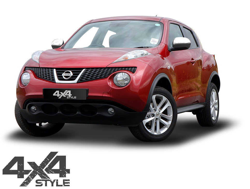 Polished Stainless Steel Mirror Covers - Nissan Juke 11-14