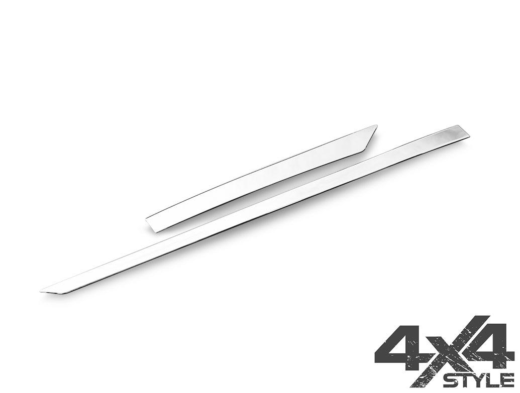 Stainless Steel Side Door Streamers - Nissan Qashqai 2014>