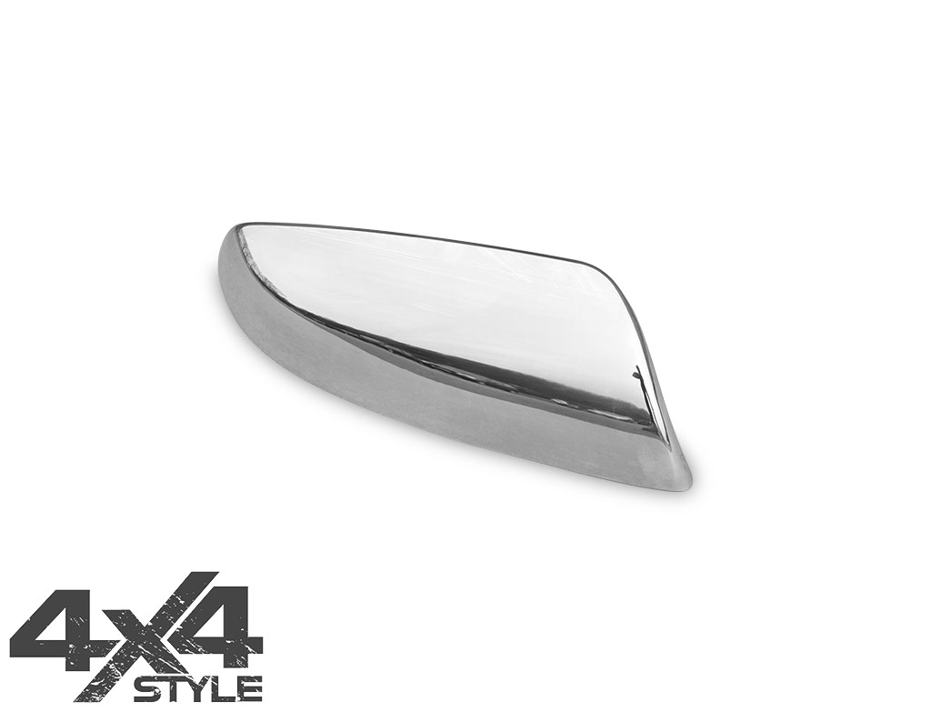 Polished Stainless Steel Wing Mirror Covers - Kia Sorento 10-14