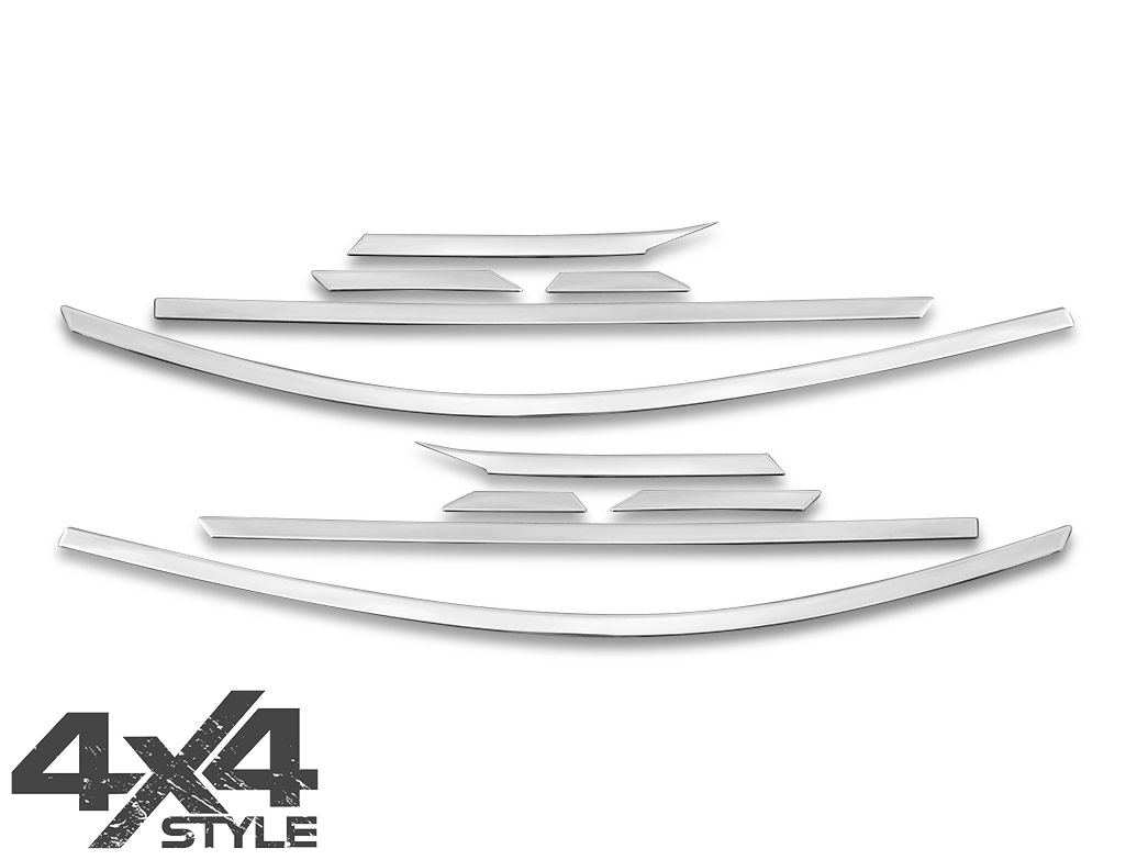 Polished Stainless Steel Window Trim 10pc - Hyundai Tucson 15>20