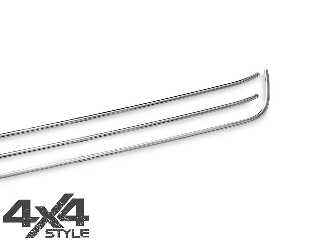 3 Piece Stainless Steel Lower Grille Trim - Amarok 10-16