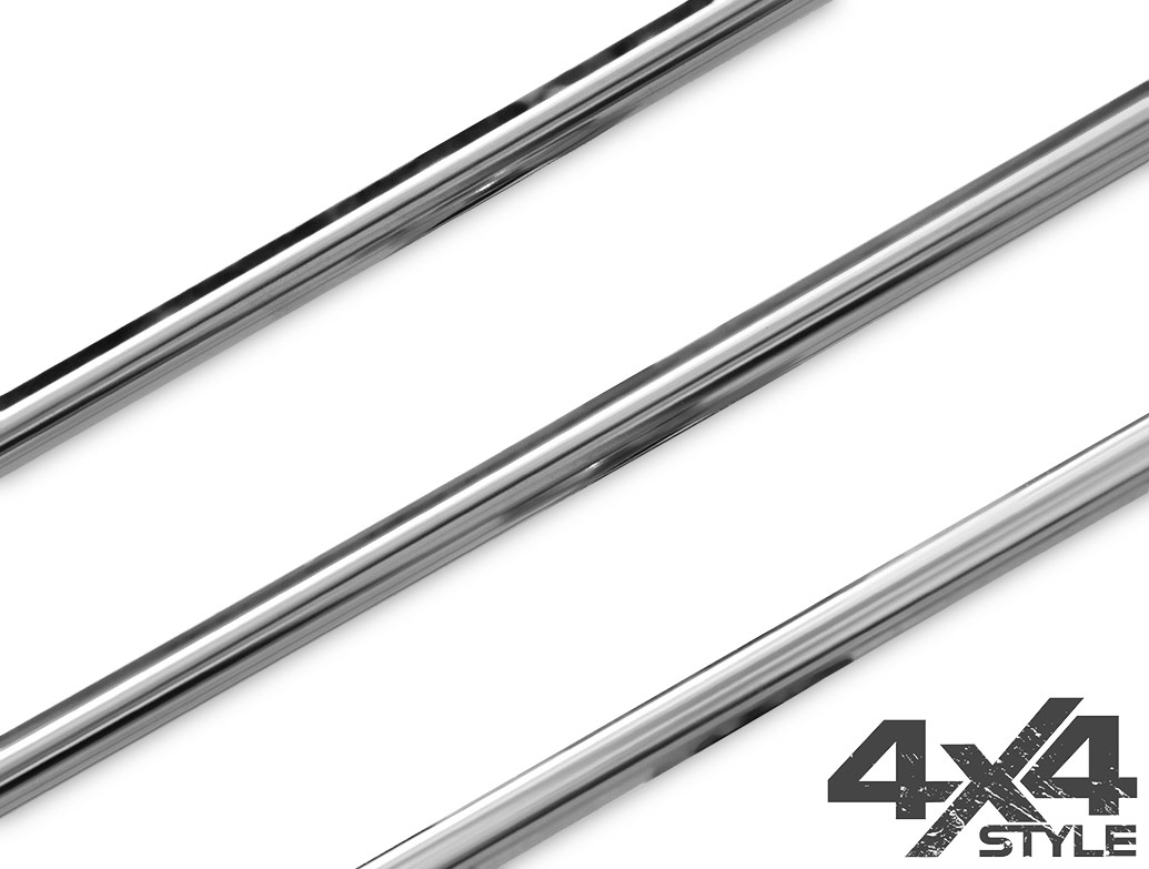 3 Piece Stainless Steel Lower Grille Trim - Amarok 10-16
