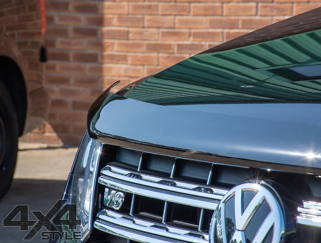 VW Amarok Genuine OE Smoked Bonnet Deflector