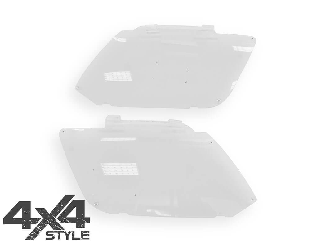 Genuine VW Amarok Acrylic Headlight Protectors - 2011 Onward