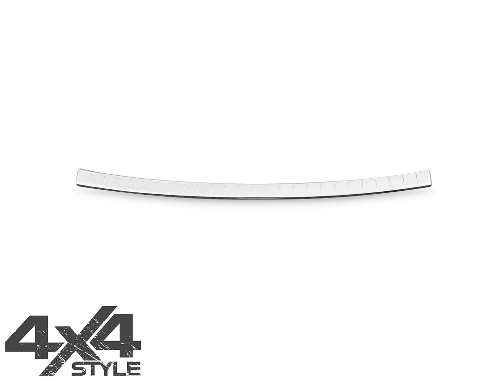 Polished Stainless Steel Bumper Protector - Nissan Qashqai 17>