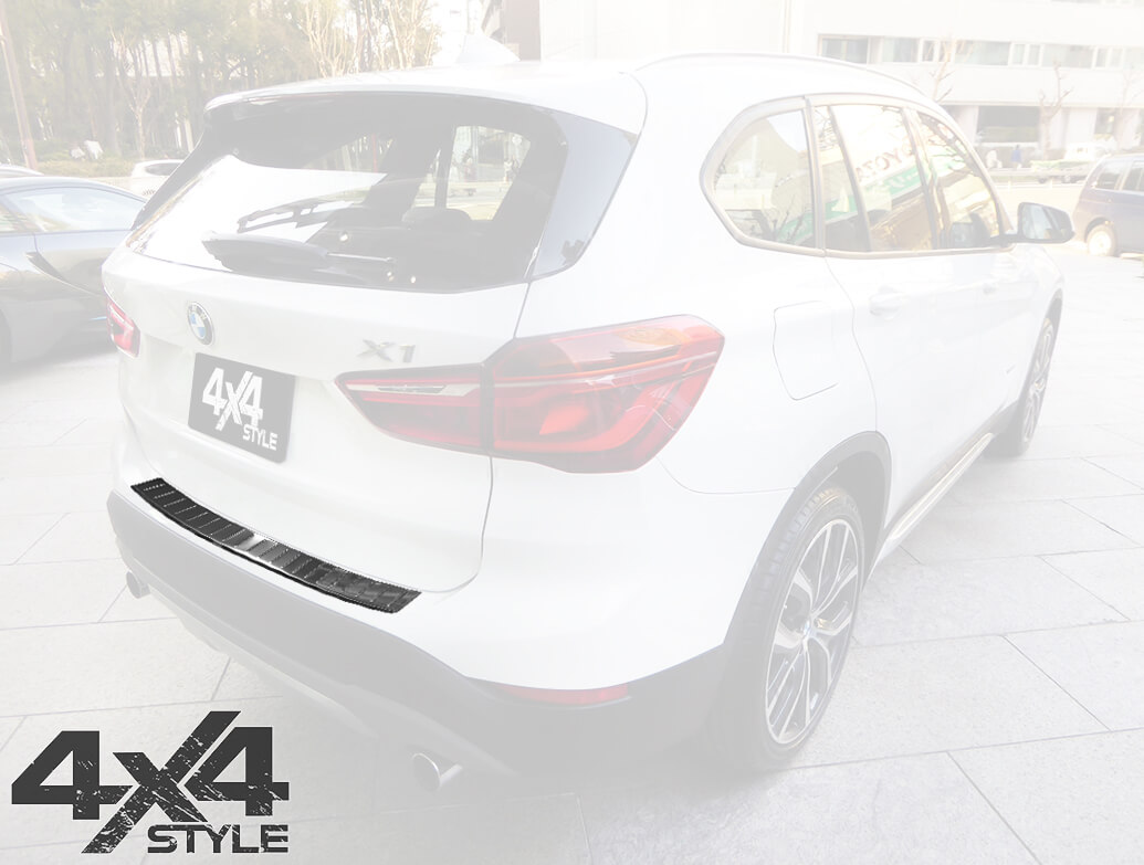 Polished Stainless Steel Rear Bumper Protector - BMW X1 F48 15>