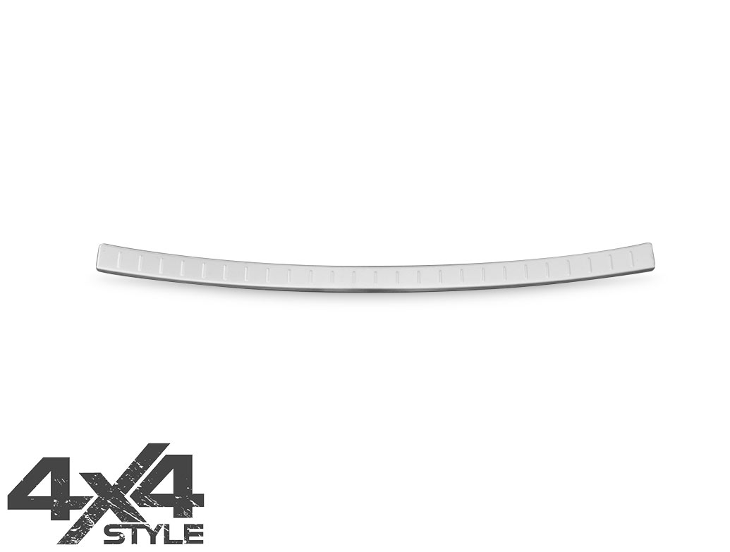 Brushed Stainless Steel Bumper Protector - Nissan Qashqai 17>