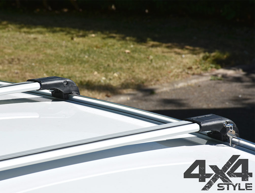 Silver Aluminium Wing Carrier Cross Bars - Hyundai ix35 10-15