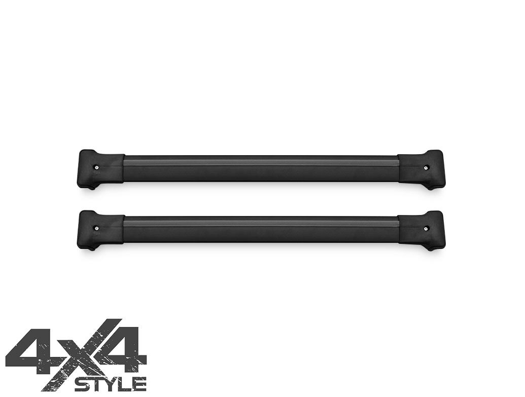 Black Aluminium Cross Bars - Skoda Yeti 10-13