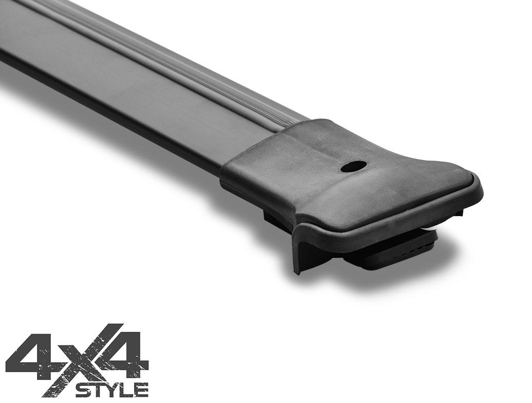 Black Aluminium Cross Bar - Dacia Duster 2018>