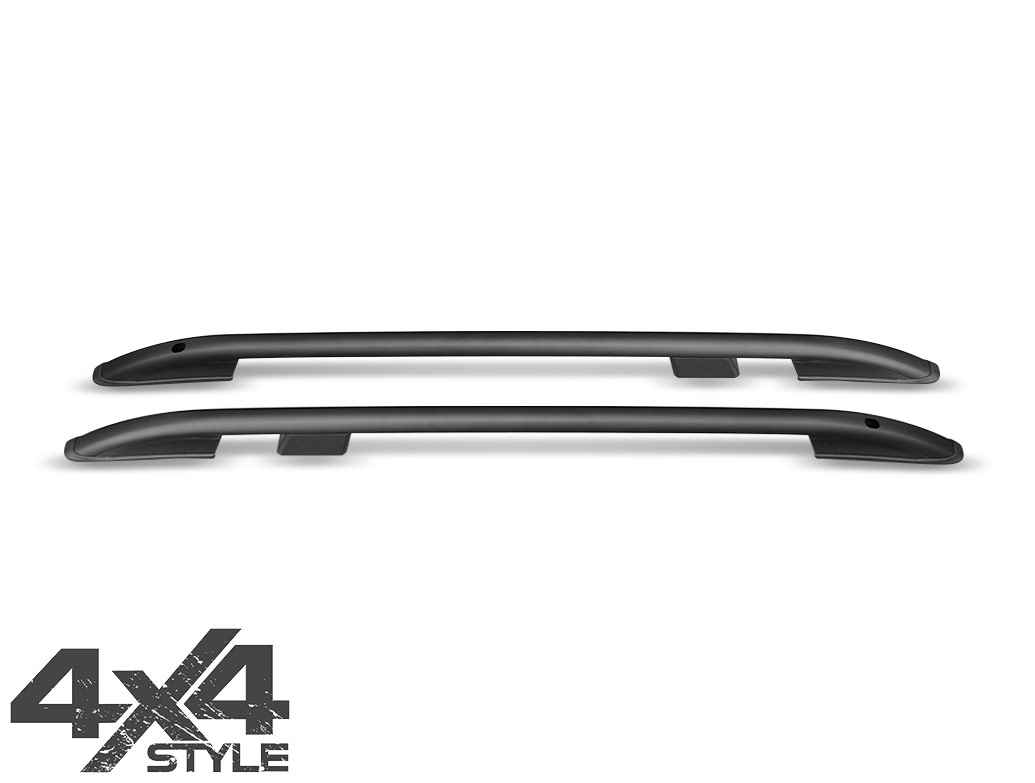 Black Aluminium Roof Bars - Mazda CX5 (KE) 12-17