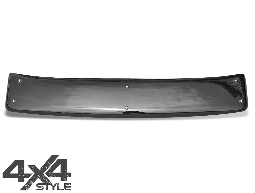 Gloss Black Acrylic Sun Visor - Nissan Navara D40 05-15