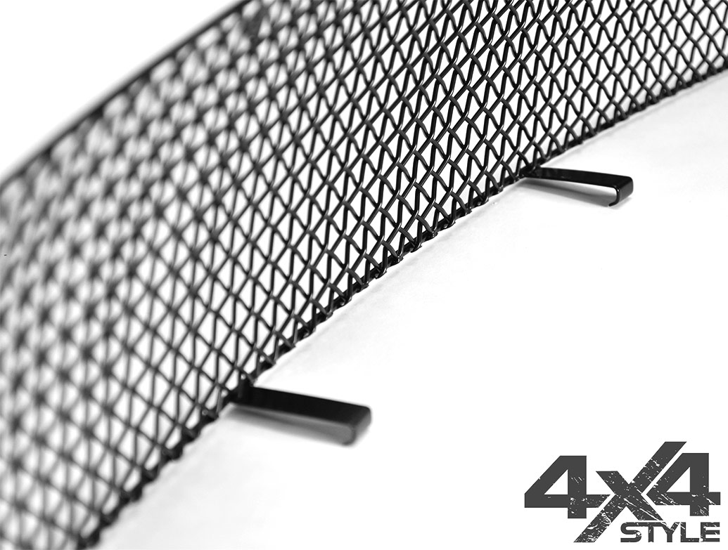 Zunsport Black Nylon Coated Lower Grille - VW Amarok 10-16