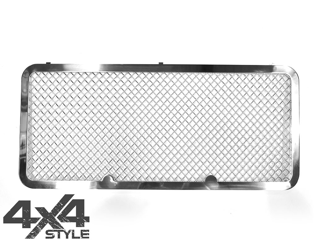 Zunsport Polished Stainless Upper Front Grille - LR Defender 07>
