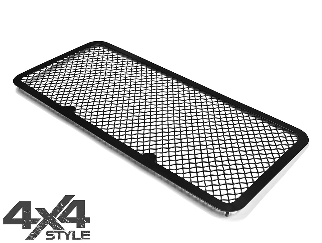 Zunsport Black Nylon Coated Full Grille Set - LR Defender