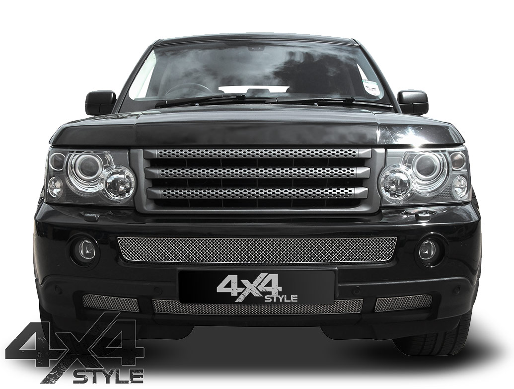 Zunsport Polished Stainless Steel Lower Grille - RR Sport 06-09